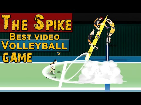 The Spike. Volleyball 3x3. Best video volleyball game.  