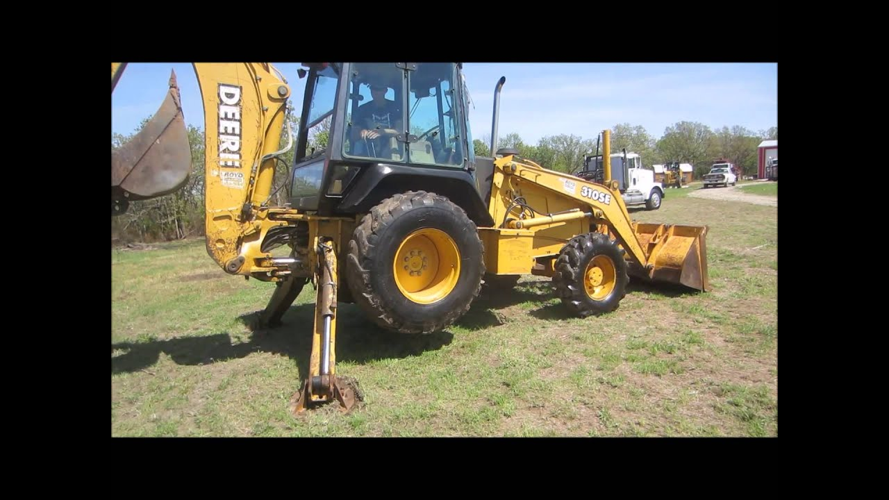 John Deere 310se Backhoe Data Set 110 Fuse Box Diagram 1997 For Sale Sold At Auction May 29 Rh Youtube Com
