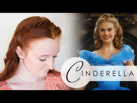 Disney's Cinderella Hair Tutorial - Two Elegant Braided Styles from the Movie