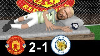 Manchester United Vs Leicester City 2-1 | Parody Goals | 10/08/2018 | #OldTrafford