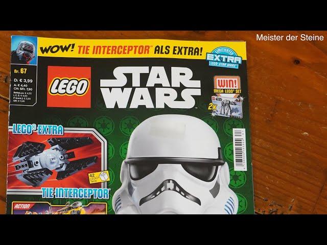 LEGO STAR WARS Magazin Dezember Nr.67 - 2020, Meister der Steine
