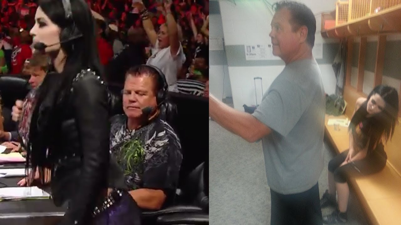 Jerry Lawler And Paige Joke About Viral Butt Picture