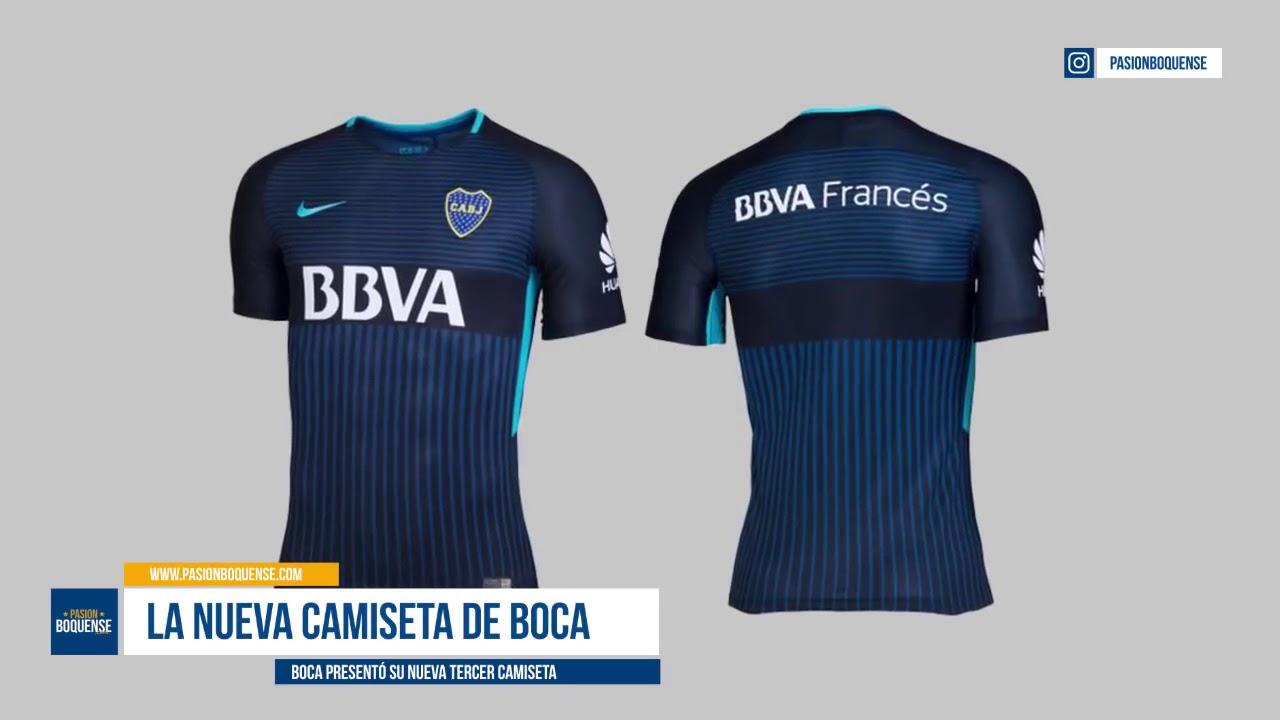 Camisa Boca Juniors Nike Third 2018 Versão Torcedor - YouTube 0547c8d983533