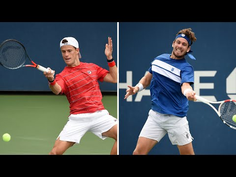 Diego Schwartzman Vs Cameron Norrie Extended Highlights Us Open 2020 Round 1 Youtube