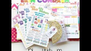 Erin Condren Plan With Me