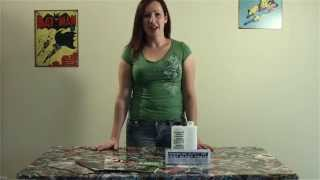 Comic book table how to