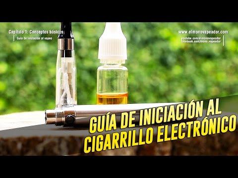 Guia de iniciacion al cigarrillo electronico (Vapeo)