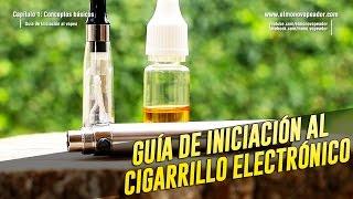 Guia de iniciacion al cigarrillo electronico (Vapeo) thumbnail