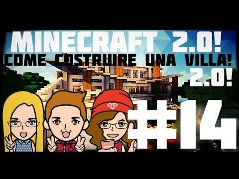 Tutorial minecraft 14 come costruire una villa for Come costruire una villa