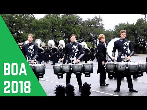 Round Rock High School Drumline 2018
