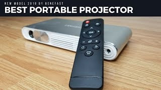 Best Portable Projector 2018 | Wifi + Bluetooth Pocket Projector | Benefast 3D