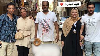 فلوج .. العيد مع العيله ❤️😍شوفوا العجل عمل فينا اي 🐄🤦🏻♀️