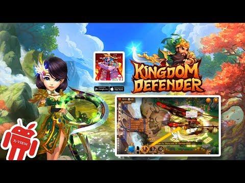 Kingdom Defender - 🔥 3D Strategic Tower Defense Mobile Online - Gameplay [1080p] X-View 👑