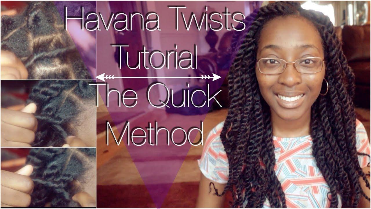 Havana Twists Tutorial The Quick Method Bonnie Adams