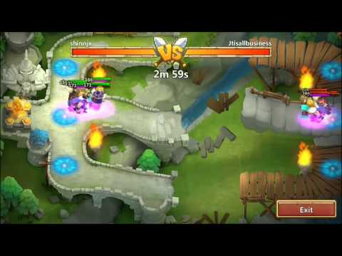 Jtisallbusiness Arena Top 5 Defense Castle Clash 9/9 MinoTaur And 9 Star