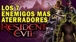 TOP: Los 7 enemigos mas aterradores de Resident Evil