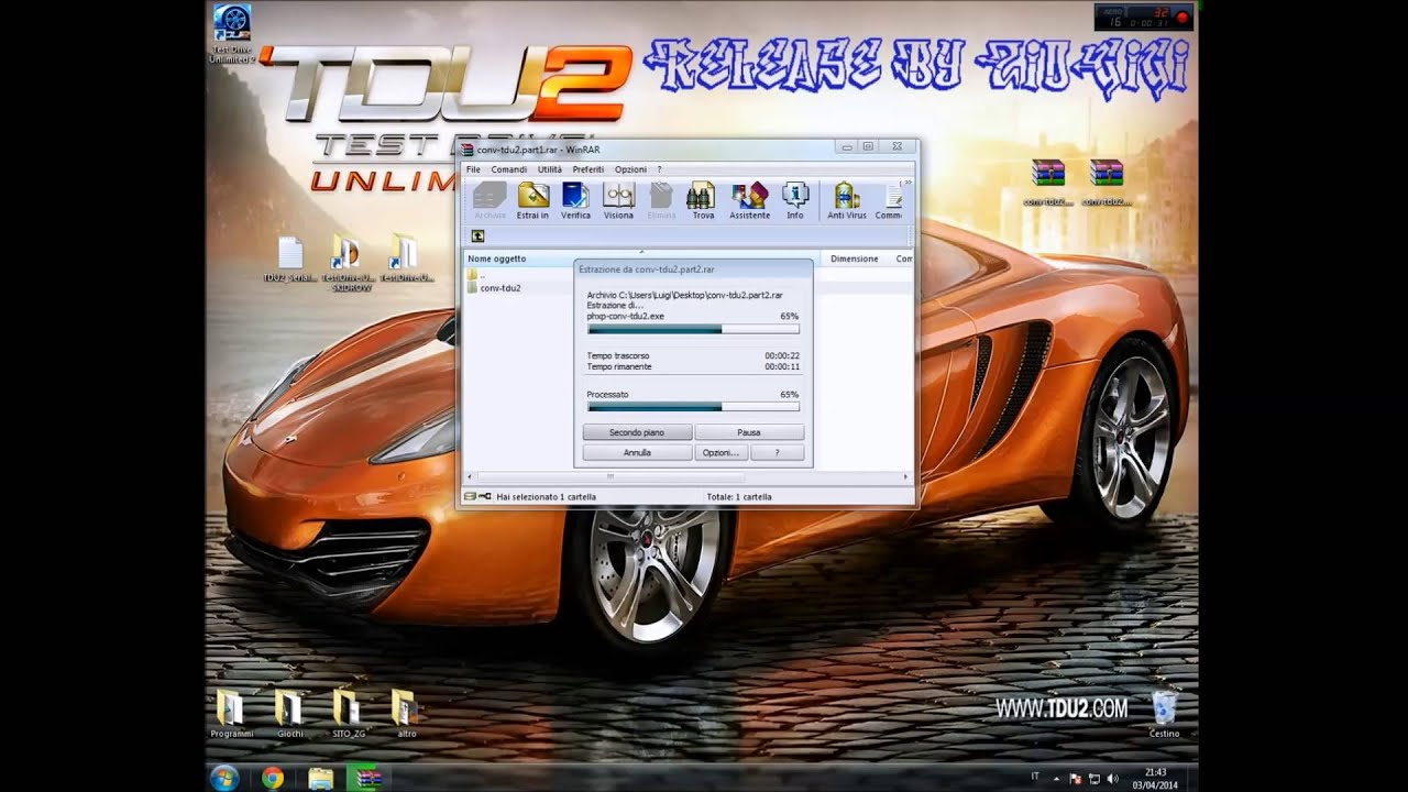 Test drive unlimited 2 + dlc's 100% save game pc [download in.