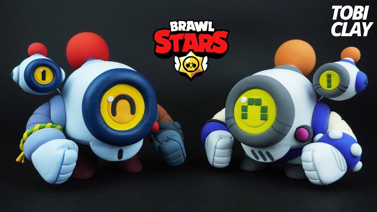 Brawl Stars RETRO NANI Clay ART