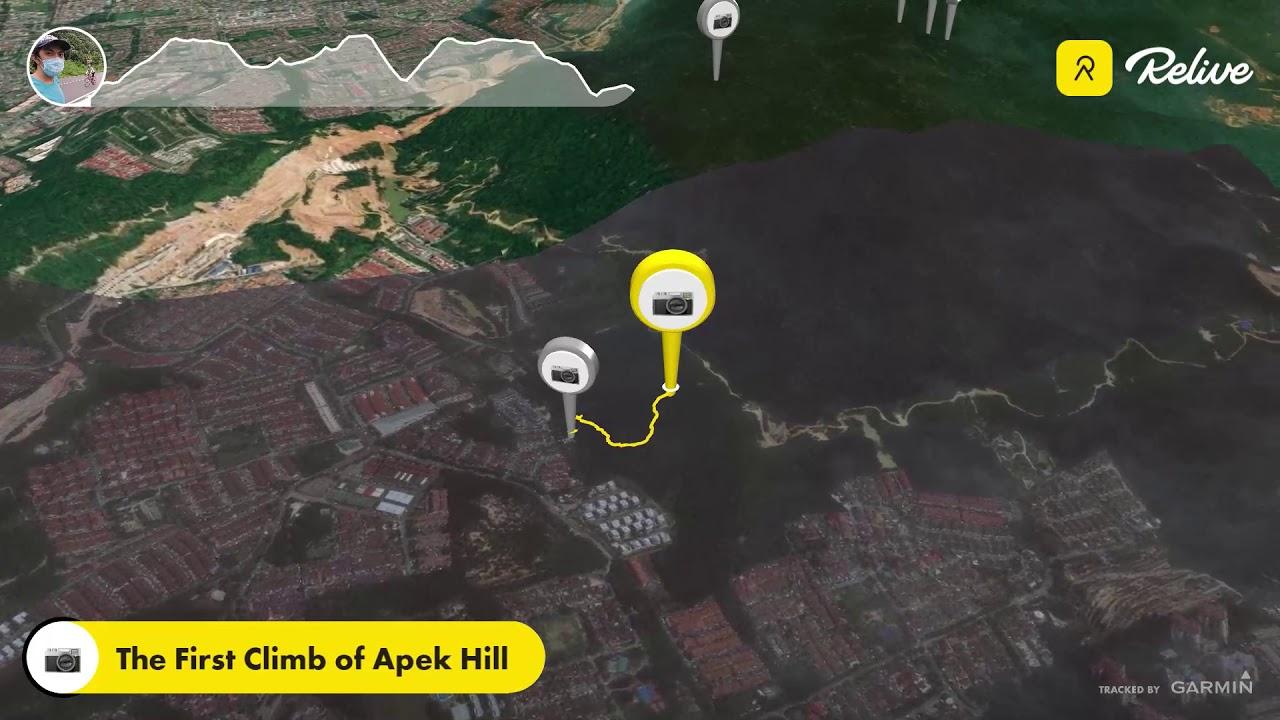 Saga + Apek Hill Combo Hike