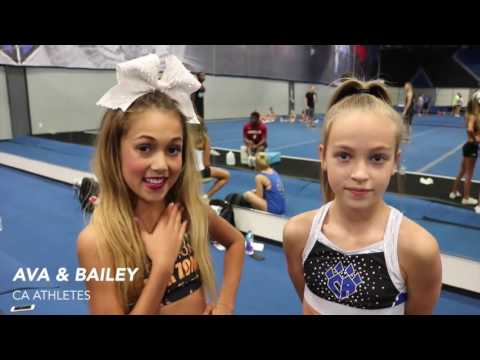 2016 Cheer Athletics Blue Debut: Coach & Athlete Interviews
