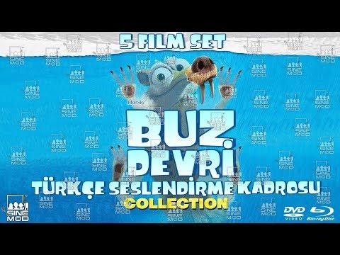 Buz Devri Serisi 1-2-3-4-5 Türkçe Dublaj Kadrosu