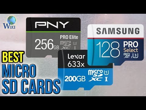 10 Best Micro SD Cards 2017