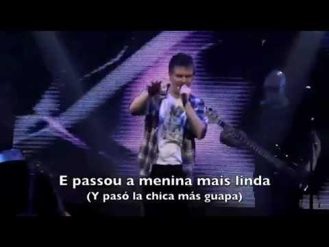 Michel telo ai se eu te pego letra(Portugues - Español).flv