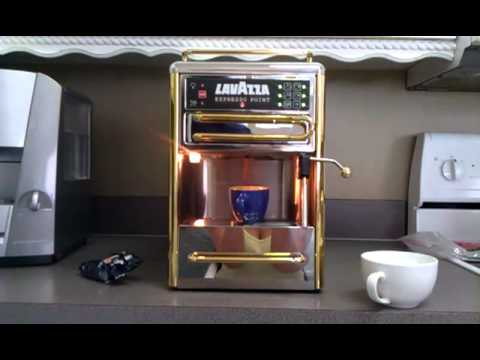 lavazza espresso machine point ecl