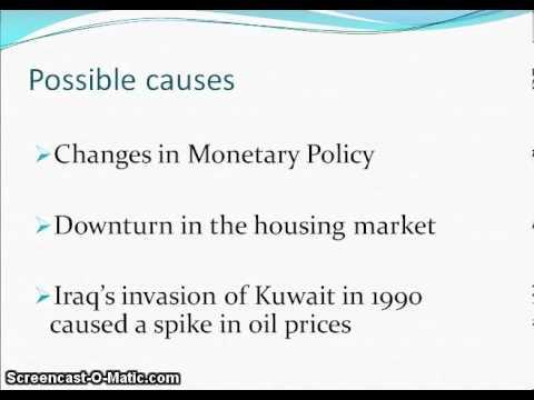 1990 91 Recession