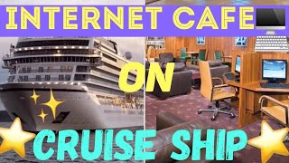 Crew Internet Cafe On Carnival Freedom