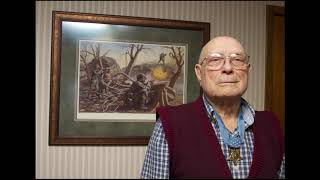 Medal of Honor recipient Woody Williams discusses attacking pillboxes on Iwo Jima