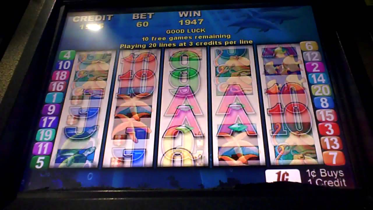 Dolphin Cash Slot Machine