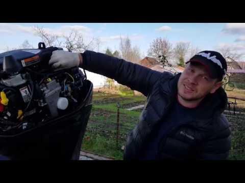 ТО и консервация 4Т лодочного мотора MERCURY F60