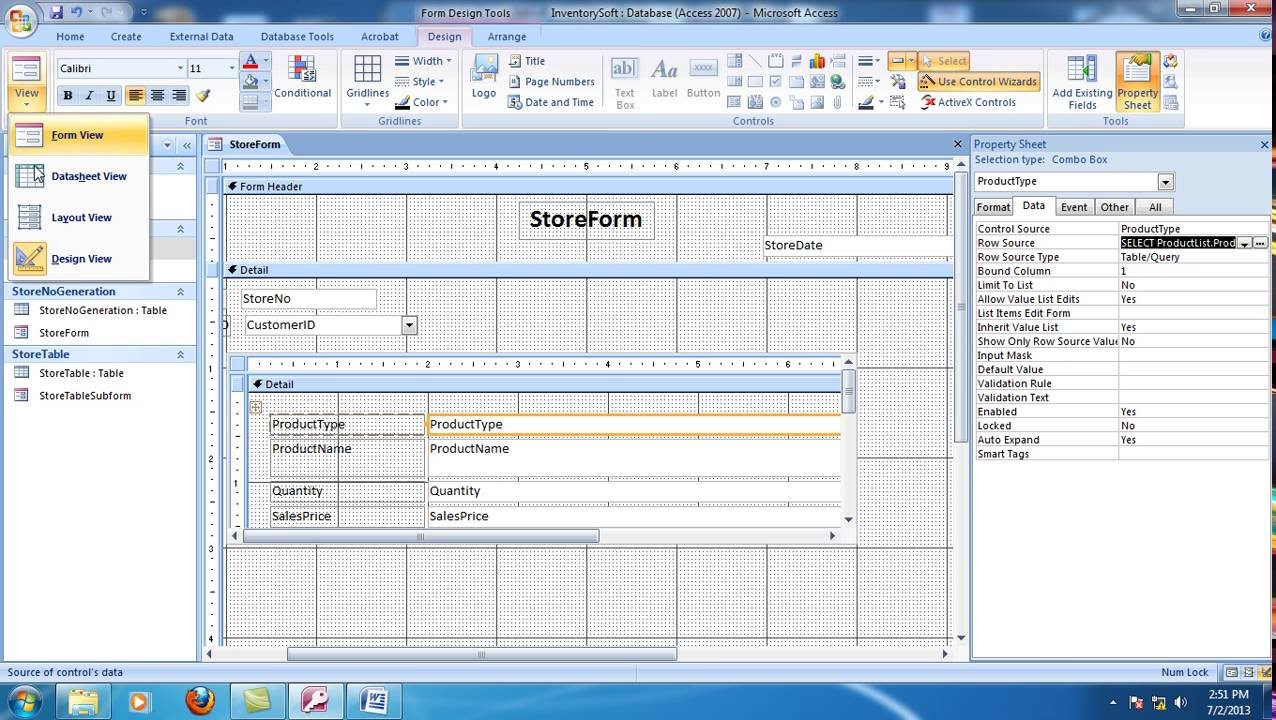 store management system project report pdf