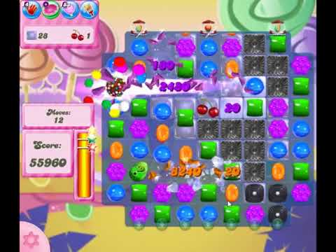 Candy Crush Saga Level 2754 - NO BOOSTERS (FREE2PLAY-VERSION)