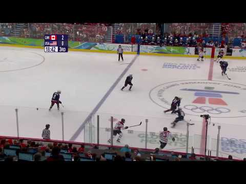 Canada 2-0 USA - Canada Win Gold Medal Game | Vancouver 2010 Winter Olympics