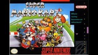 Super Mario Kart Flower Cup 50cc Playthrough [Mario]