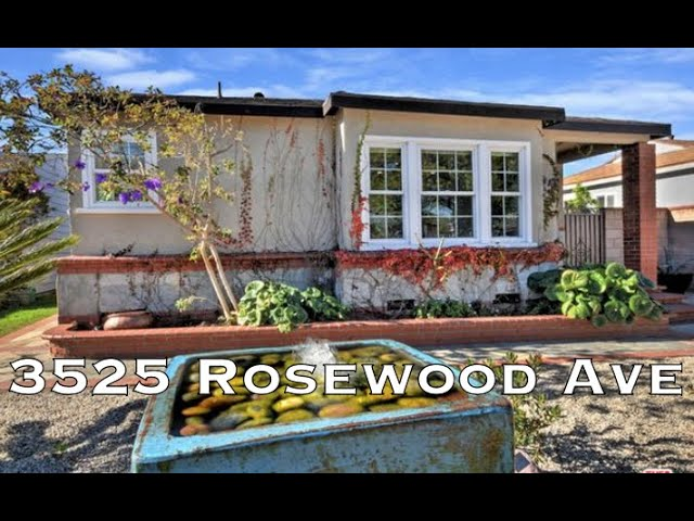 3525 Rosewood Ave, Los Angeles CA 90066