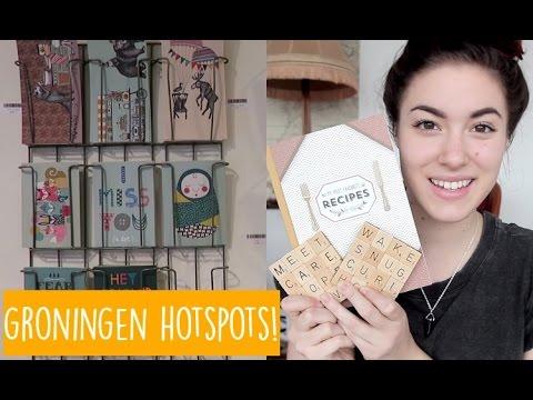 GRONINGEN HOTSPOTS + SHOPLOG! | Teske