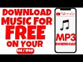 HOW TO DOWNLOAD MP3 ON YOUR IOS/IPAD FOR FREE?