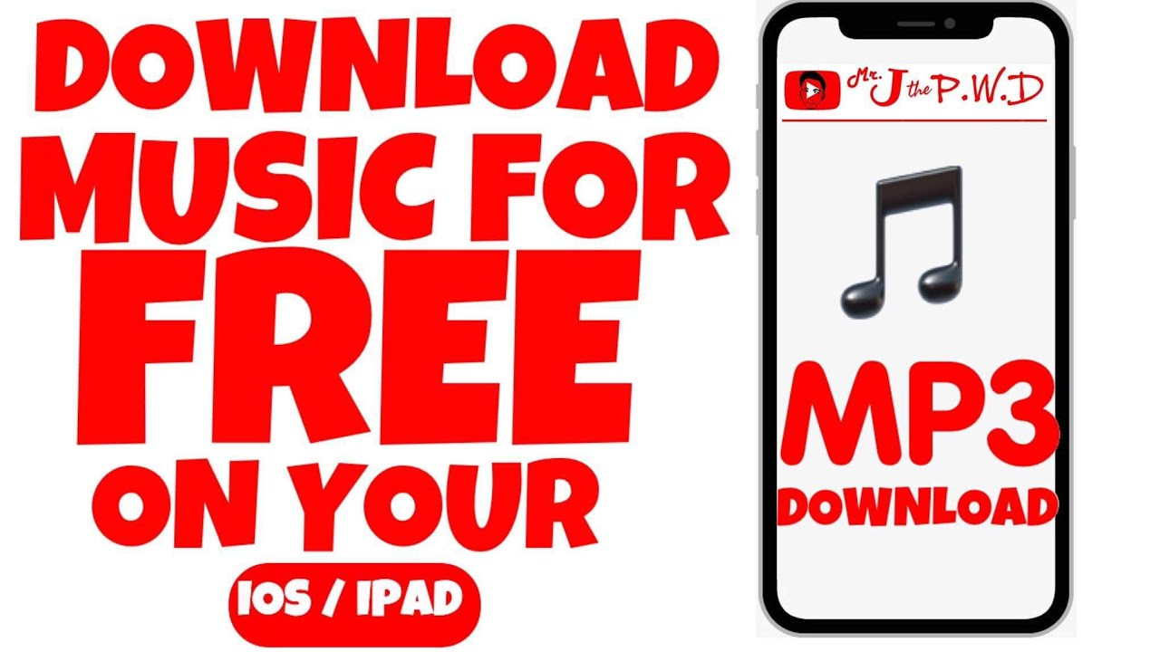 How To Download Mp3 Music On Your Ios Ipad For Free Free Download Music Ios Ipad Youtube