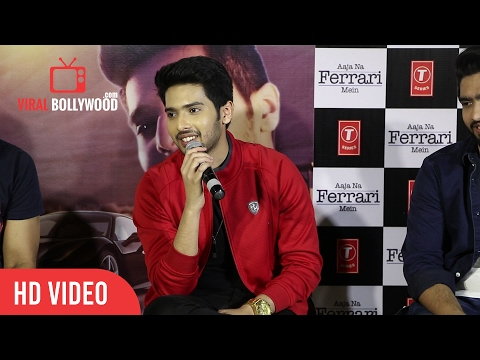 Armaan Malik Full Speech | AAJA NA FERRARI MEIN Song Launch