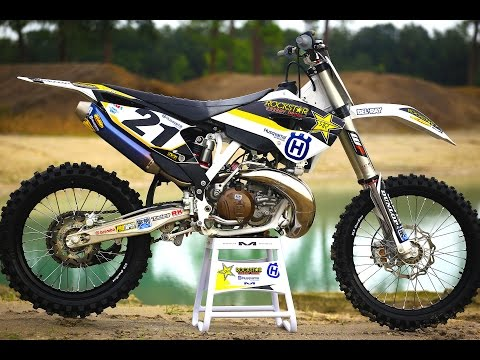 Jason Anderson 250 2 Stroke vs 450 4 Stroke || Motocross Action Magazine
