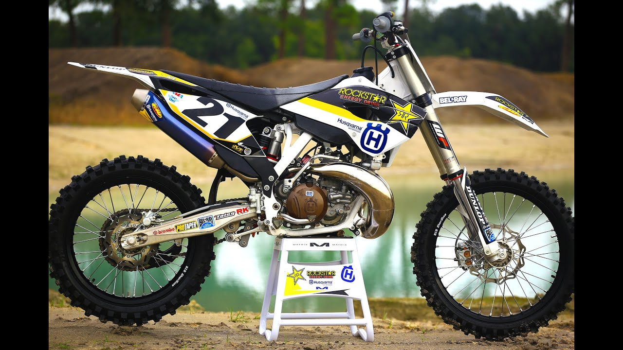 jason anderson 250 2 stroke vs 450 4 stroke motocross. Black Bedroom Furniture Sets. Home Design Ideas