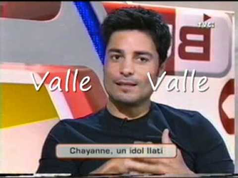 CHAYANNE ENTREVISTA ESPAÑA PRIMERA PARTE Interview first part MI TIEMPO