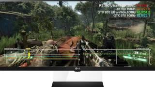 radeon r9 390 vs gtx 970 ultra wide 21 9 1080p 2560x1080 benchmarks