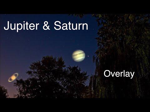 Jupiter & Saturn Night - (Nikon P1000 Camera & Canon 80D)