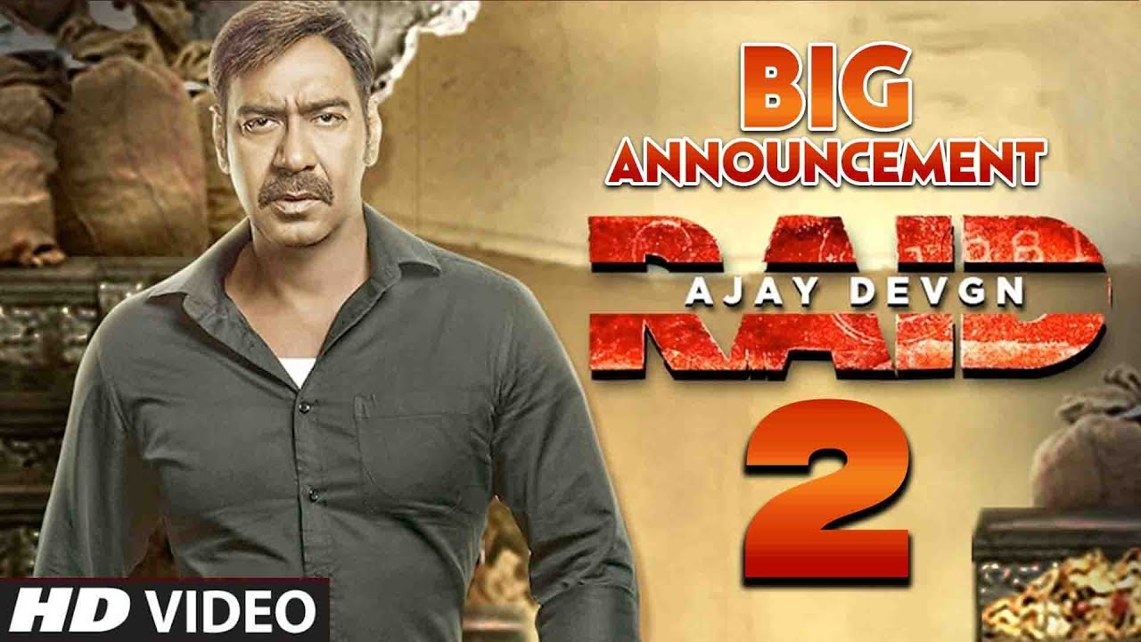 RAID 2 - Ajay Devgn Big Announcement | First Look | Teaser | Raid ...