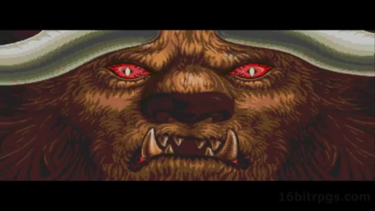 Might and Magic 3: Isles of Terra [INTRO] Sega CD