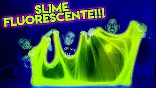 SLIME FLUORESCENTE!! BRILLA en la OSCURIDAD!! ItarteVlogs